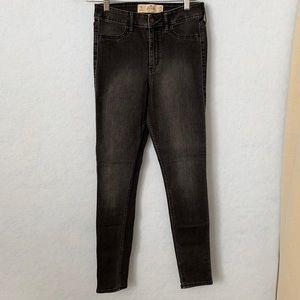 Hollister Black Super Skinny High-Rise Jeans